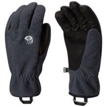 Mountain Hardwear Perignon Gloves (For Men) in Black - Closeouts