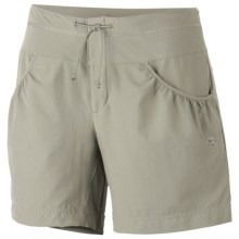 Mountain Hardwear Petralla Shorts - UPF 50 (For Women) in Abbey Stone - Closeouts
