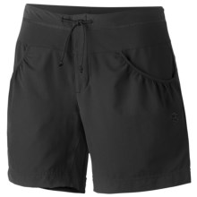 Mountain Hardwear Petralla Shorts - UPF 50 (For Women) in Black - Closeouts