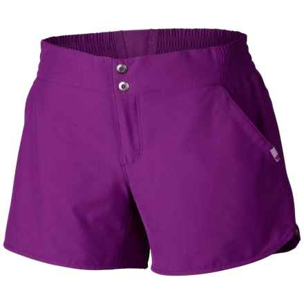 Mountain Hardwear Petrina Shorts - UPF 50 (For Women) in Plum - Closeouts