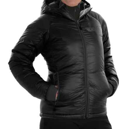 Mountain Hardwear Phantom™ Hooded Down Jacket - 850 Fill Power (For Women) in Black - Closeouts