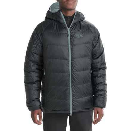 Mountain Hardwear Phantom Hooded Q.Shield® Down Jacket - 850 Fill Power (For Men) in Black - Closeouts