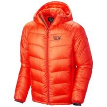 Mountain Hardwear Phantom Hooded Q.Shield® Down Jacket - 850 Fill Power (For Men) in State Orange - Closeouts