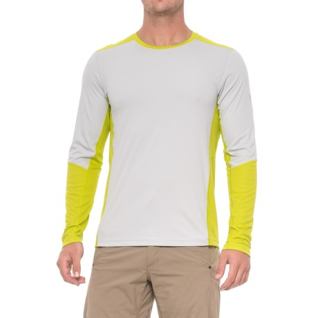 Mountain Hardwear Photon T-Shirt - UPF 50, Long Sleeve (For Men) in Grey Ice