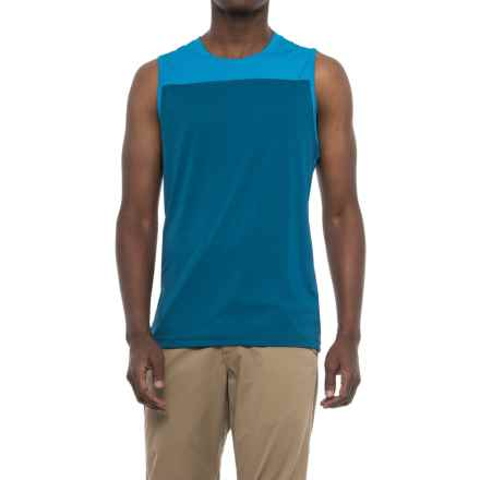 Mountain Hardwear Photon Tank Top - UPF 50+ (For Men) in Phoenix Blue - Closeouts