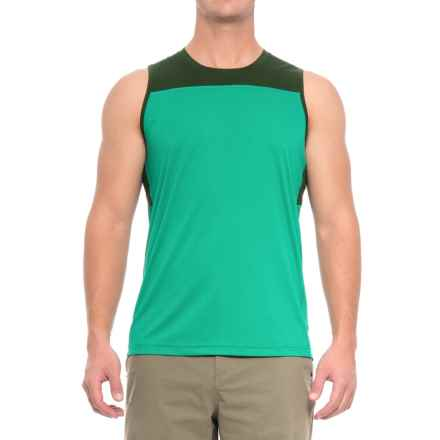 Mountain Hardwear Photon Tank Top - UPF 50+ (For Men) in Plastic Fern - Closeouts