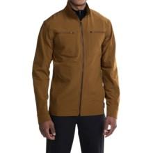 Mountain Hardwear Piero Lite Soft Shell Jacket (For Men) in Golden Brown - Closeouts