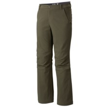 Mountain Hardwear Piero Pants - UPF 50 (For Men) in Peatmoss - Closeouts