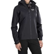 Mountain Hardwear Plasmic Dry.Q® Evap Jacket - Waterproof (For Women) in Black - Closeouts