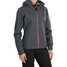 Mountain Hardwear Plasmic Dry.Q® Evap Jacket - Waterproof (For Women) in Graphite - Closeouts