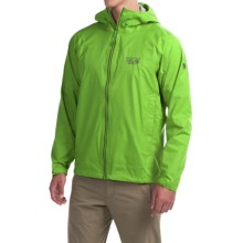 Mountain Hardwear Plasmic Ion Dry.Q® Evap Jacket - Waterproof (For Men) in Cyber Green - Closeouts