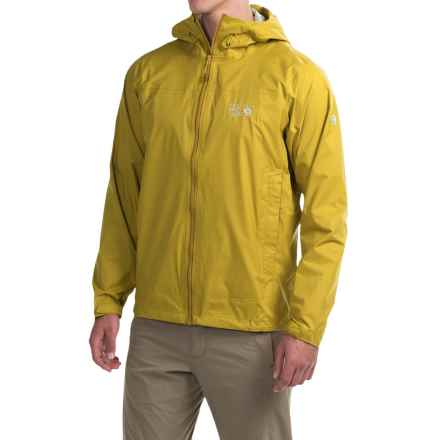 Mountain Hardwear Plasmic Ion Dry.Q® Evap Jacket - Waterproof (For Men) in Electron Yellow - Closeouts