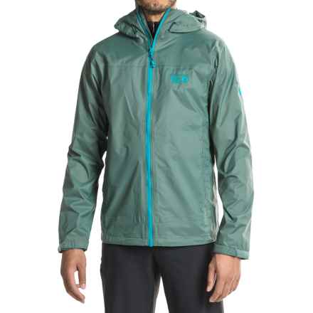 Mountain Hardwear Plasmic Ion Dry.Q® Evap Jacket - Waterproof (For Men) in Thunderhead Grey - Closeouts