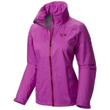 Mountain Hardwear Plasmic Ion Dry.Q Evap Jacket - Waterproof (For Women) in Foxglove - Closeouts