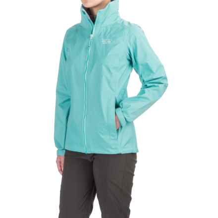 Mountain Hardwear Plasmic Ion Dry.Q Evap Jacket - Waterproof (For Women) in Spruce Blue - Closeouts