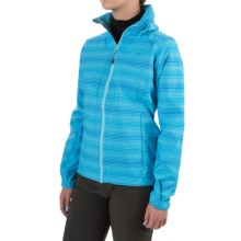 Mountain Hardwear Plasmic Ion Printed Jacket - Waterproof (For Women) in Atoll - Closeouts