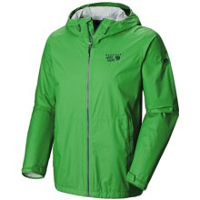 Mountain Hardwear Plasmic Jacket (For Men) in Fuse Green - Closeouts