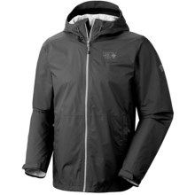 Mountain Hardwear Plasmic Jacket (For Men) in Shark - Closeouts