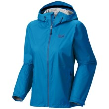 Mountain Hardwear Plasmic Jacket - Waterproof (For Women) in Bay Blue - Closeouts