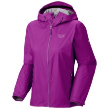 Mountain Hardwear Plasmic Jacket - Waterproof (For Women) in Berry Jam - Closeouts