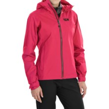 Mountain Hardwear Plasmic Jacket - Waterproof (For Women) in Bright Rose - Closeouts