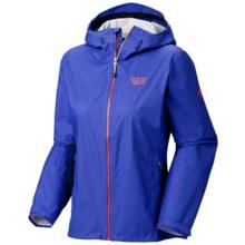 Mountain Hardwear Plasmic Jacket - Waterproof (For Women) in Cornflower - Closeouts