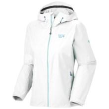 Mountain Hardwear Plasmic Jacket - Waterproof (For Women) in Sea Salt - Closeouts