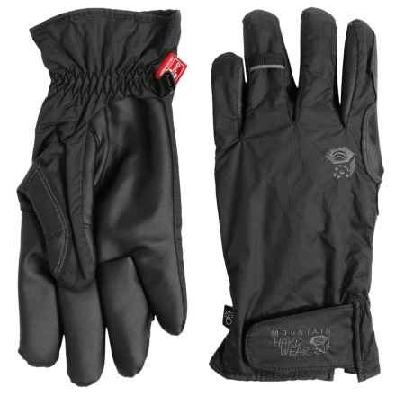 Mountain Hardwear Plasmic OutDry® Dry.Q Evap Gloves - Waterproof, Touchscreen Compatible (For Men) in Black - Closeouts