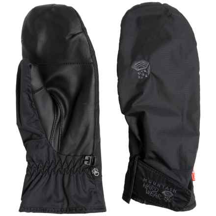 Mountain Hardwear Plasmic Outdry Dry.Q® Evap Mittens - Waterproof, Touchscreen Compatible (For Men and Women) in Black - Closeouts