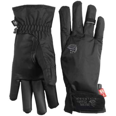 Mountain Hardwear Plasmic OutDry® Gloves - Waterproof, Touchscreen Compatible (For Women) in Black - Closeouts