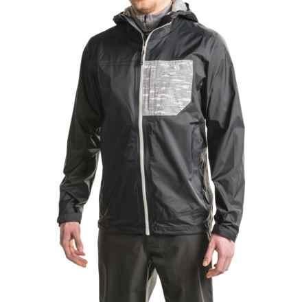 Mountain Hardwear Plasmonic Jacket - Waterproof (For Men) in Black - Closeouts