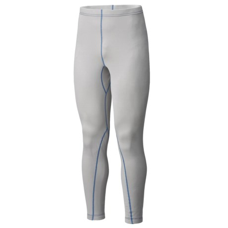 Mountain Hardwear Polartec® Micro Power Stretch® Base Layer Tights - Full Length (For Men) in Cool Grey
