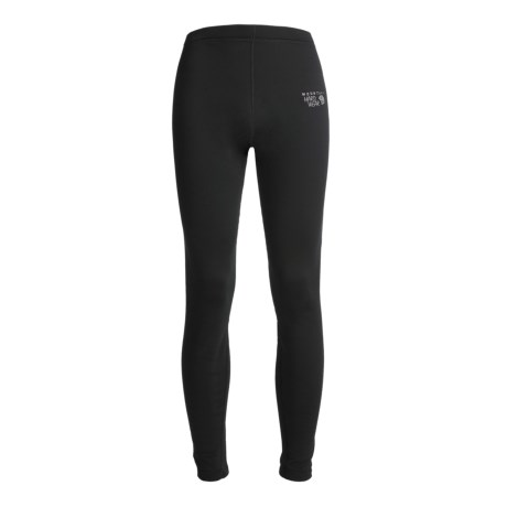 Mountain Hardwear Polartec® Power Stretch® Base Layer Tights - Midweight, Reversible (For Men) in Black