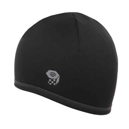 Mountain Hardwear Polartec® Power Stretch® Beanie (For Men and Women) in Black - Closeouts