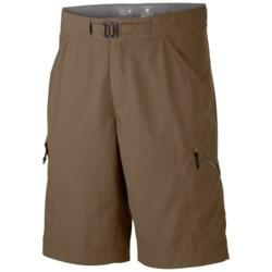 Mountain Hardwear Portino Shorts - UPF 50 (For Men) in Cigar