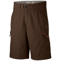Mountain Hardwear Portino Shorts - UPF 50 (For Men) in Cordovan