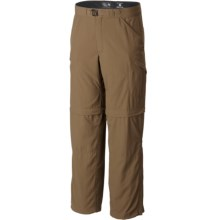 Mountain Hardwear Portino Soft Shell Pants (For Men) in Cigar - Closeouts