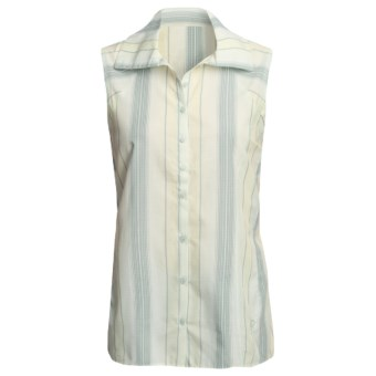 Mountain Hardwear Potala Shirt - Sleeveless (For Women) in Cabbage