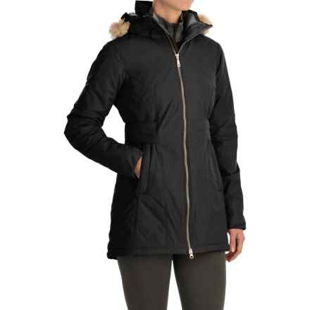 Mountain Hardwear Potrero Parka - Insulated (For Women) in Black/Black - Closeouts