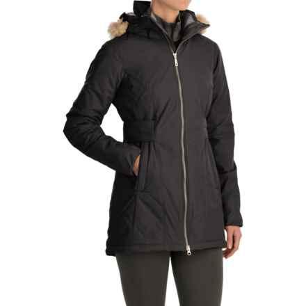 Mountain Hardwear Potrero Parka - Insulated (For Women) in Black - Closeouts