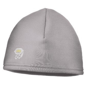 Mountain Hardwear Power Stretch® Beanie Hat (For Men) in Stainless