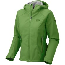 Mountain Hardwear Principia Jacket - Soft Shell (For Women) in Palm - Closeouts