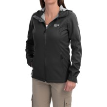 Mountain Hardwear Principia Soft Shell Jacket (For Women) in Black - Closeouts