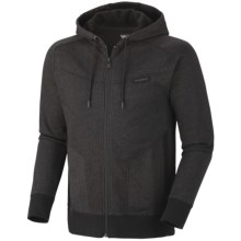 Mountain Hardwear Progresrer Hoodie Sweatshirt - Full Zip (For Men) in Black - Closeouts