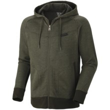 Mountain Hardwear Progresrer Hoodie Sweatshirt - Full Zip (For Men) in Duffel - Closeouts