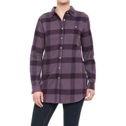 Mountain Hardwear Pt. Isabel Tunic Shirt - Long Sleeve (For Women) in Purple Sage - Closeouts