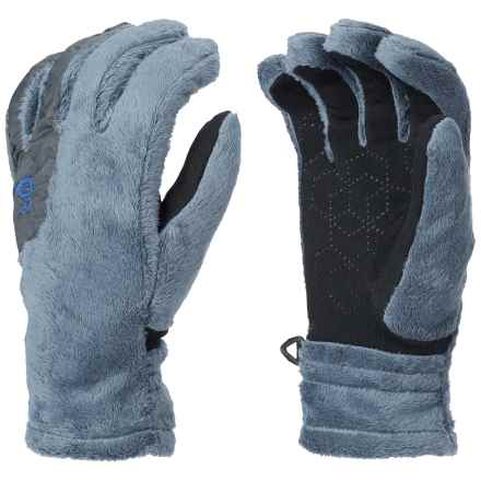 Mountain Hardwear Pyxis Fleece Gloves (For Women) in Mountain - Closeouts