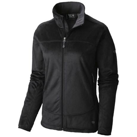 Mountain Hardwear Pyxis Fleece Jacket (For Women) in Black/ Black