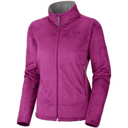 Mountain Hardwear Pyxis Fleece Jacket (For Women) in Oasis Blue