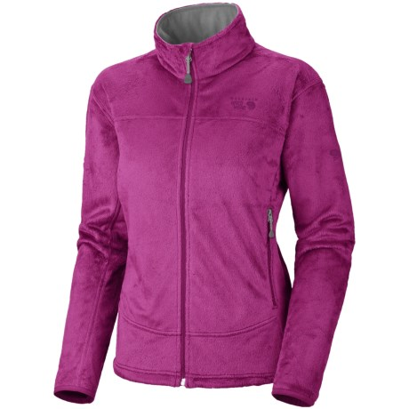 Mountain Hardwear Pyxis Fleece Jacket (For Women) in Berry Jam